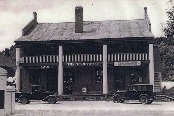 The Bath Brick Store in the 1930s