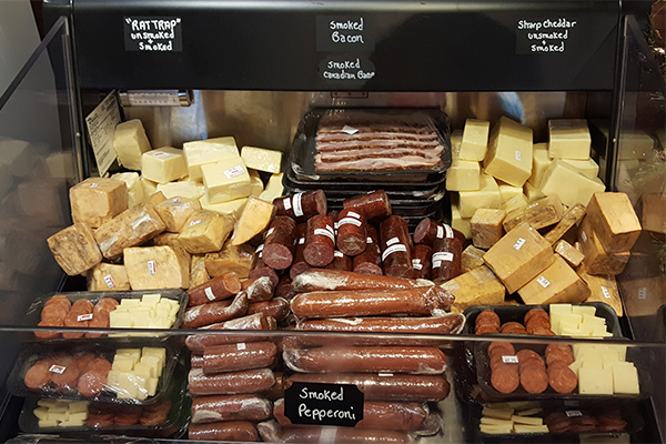 Smoked Meats and Cheese