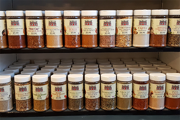 The Brick Store Spices and Rubs