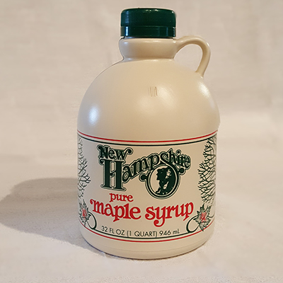 Grade-A Amber Pure Maple Syrup
